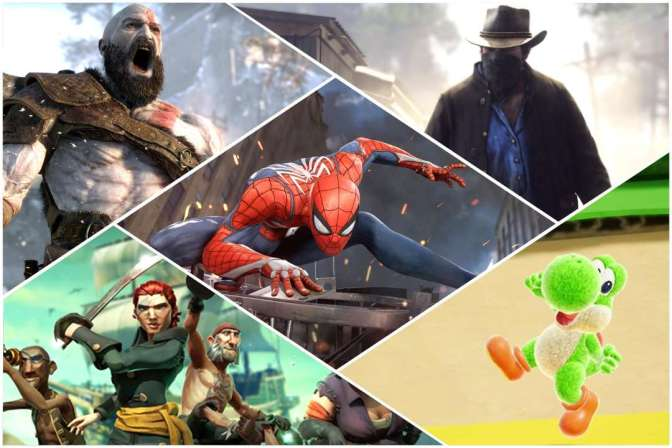 The Most Anticipated Games of 2018